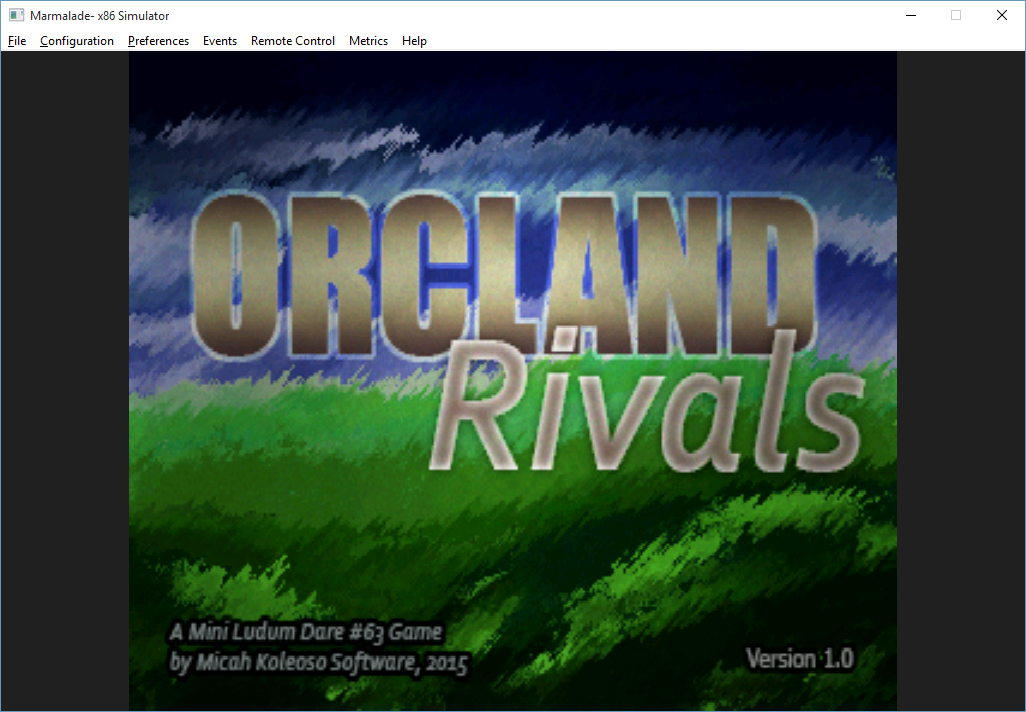 Orcland Rivals - Screenshot 1 Titles