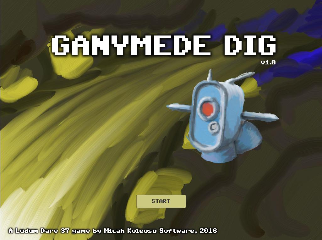 Ganymede Dig - Title