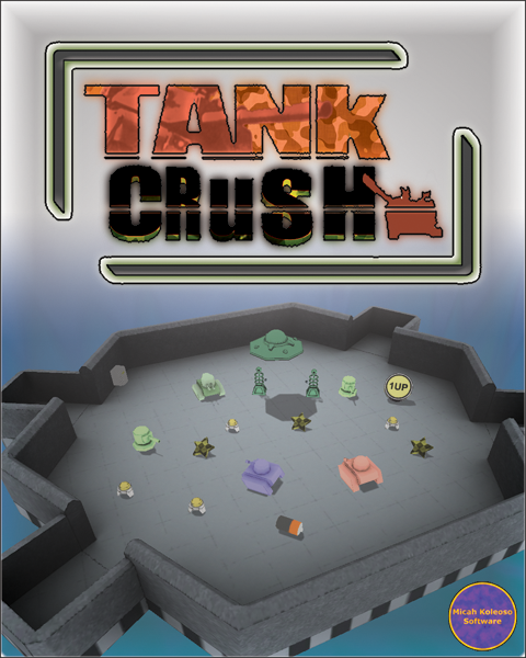 Tank Crush Box Art
