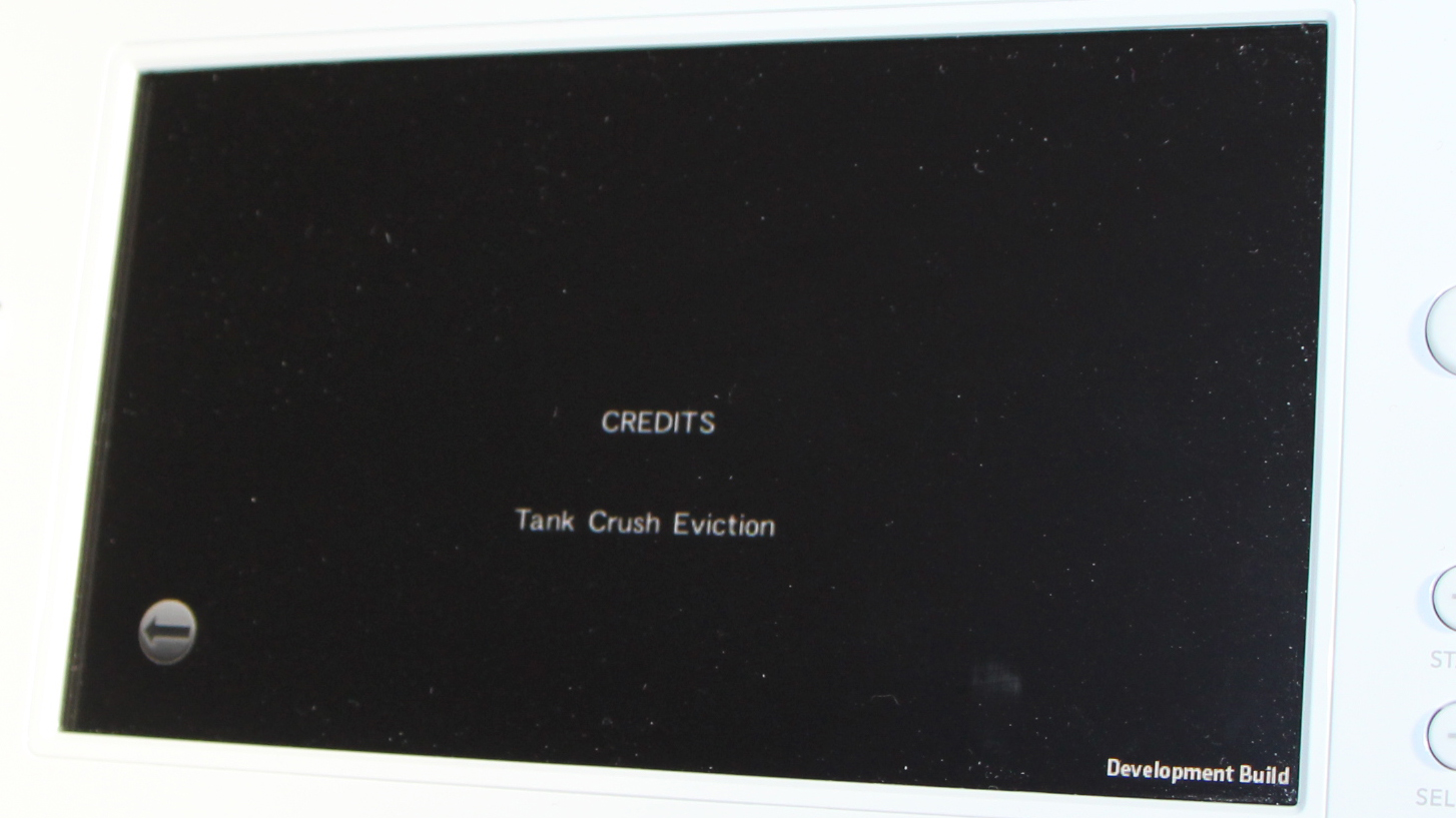 Tank Crush - Eviction Wii U Development Screenshot 1