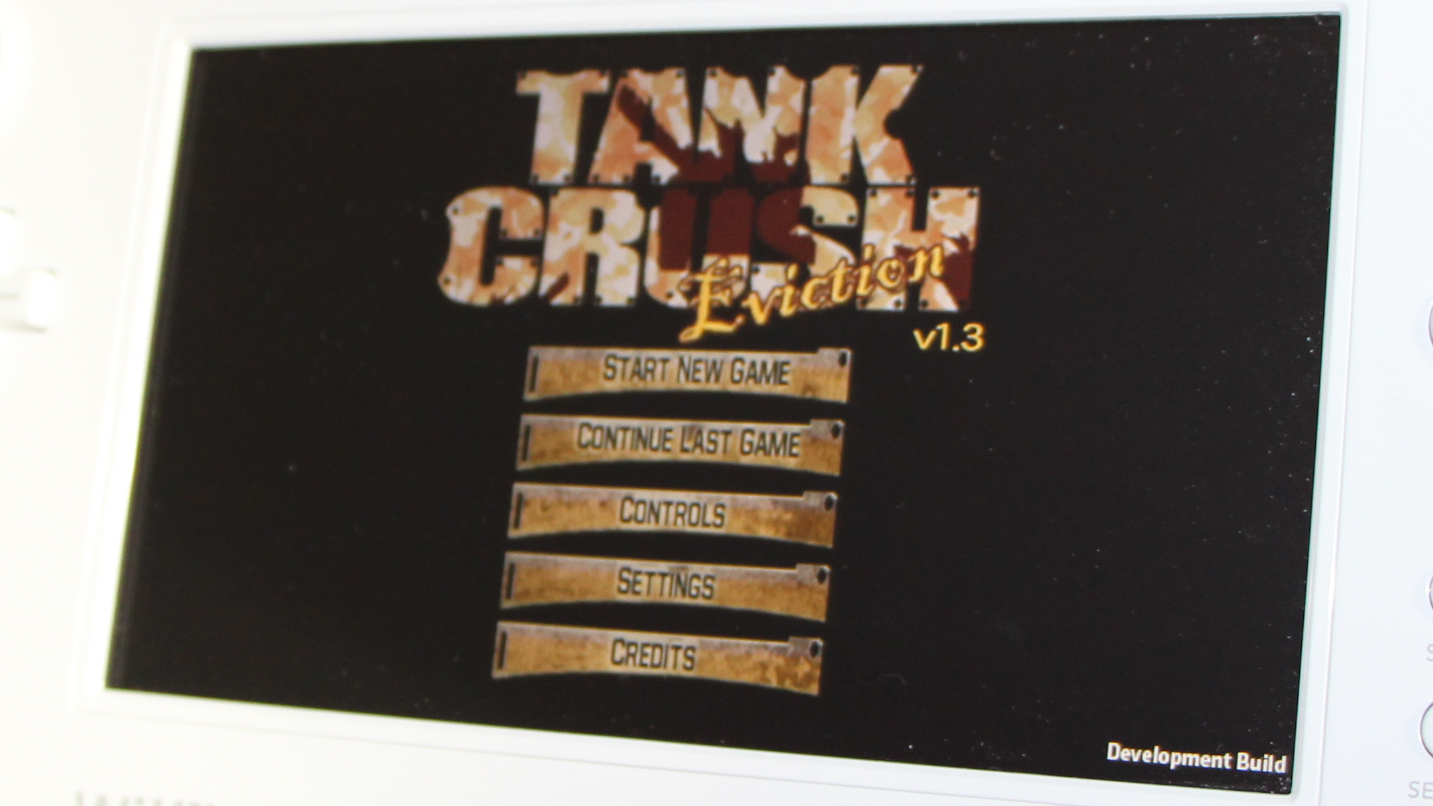 Tank Crush - Eviction Wii U Development Screenshot 3