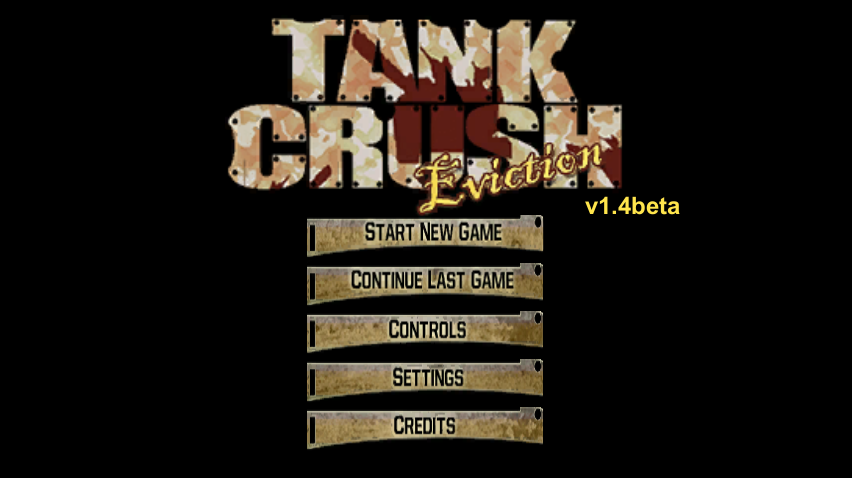 Tank Crush - Eviction Title